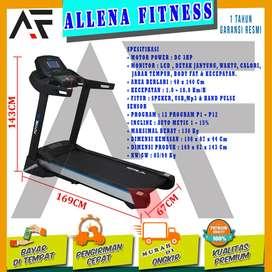 Alat Fitness Treadmill Elektrik TL-199 - Treadmil Electric Motor 3 Hp