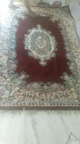 Floor woolen carpet
