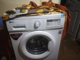 LG 6kg Fully automatic front load washing machine