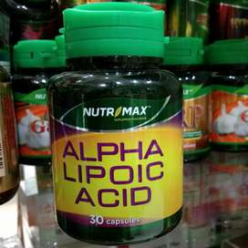 Nutrimax Alpha Lipoic Acid ALA Isi 30 Vitamin