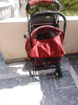 Imported baby stroller for twins