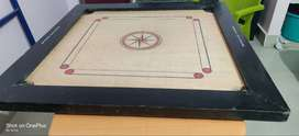 Good condition carrom board with carrom stand