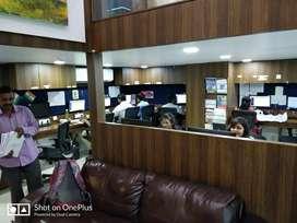 Fully frunished office nearby vashi railway station