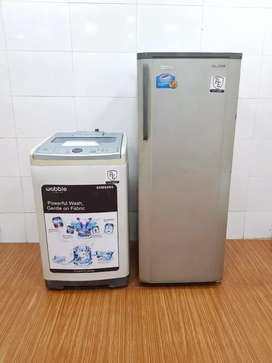 I'd 2 Samsung Top Load Washing machine & Samsung Single door fridge