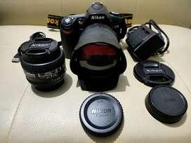 Nikon D90 Lensa AF-S 18-105mm & Lensa AF 50mm