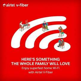 Technician For AirteL Fiber Connection And Solve Customer Complaints