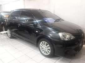 Toyota Etios G M/t 2013 hitam KM rendah