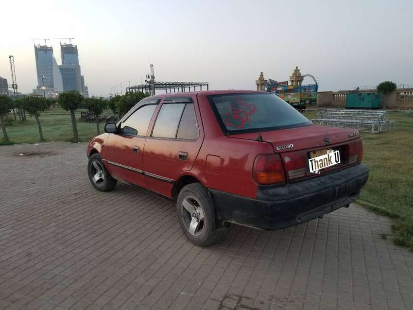 Suzuki margalla in red color for sale 1997 0