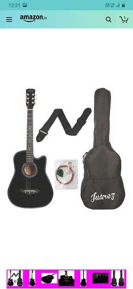 New black guitar
