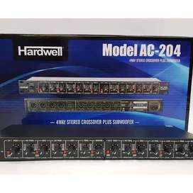 HARDWELL Crossover Speaker AC 204 Aktif 4Way + Subwoofer