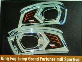 ring foglamp TRD sporty grand new FORTUNER ( kikim variasi paris )