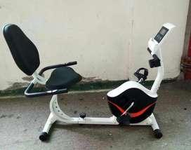 Hemat Biaya Sepeda Statis Recumbent ID438-1 Fitness Olahraga