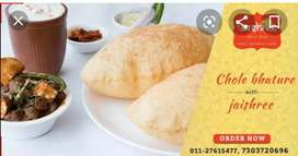 Chole Bhature chef