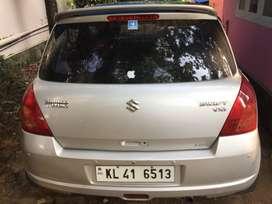 Maruti swift vxi,2007,petrol,86km,company service
