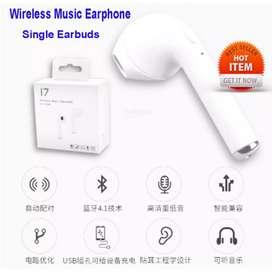 Headset Bluetooth I7 Single