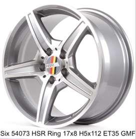 HSR Six ring 17x8 hole 5x112 et 35 Surakarta