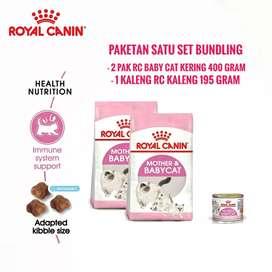 Bundling Paket Royal Canin Mother BabyCat 400gram 2pcs RC baby Kaleng