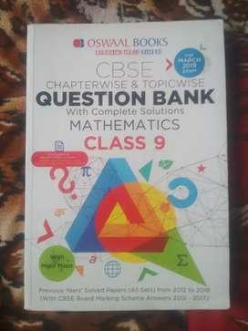 Oswaal mathematics class 9