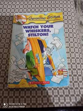 Geronimo Stilton watch your whiskers