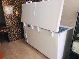 Deep freezer double door