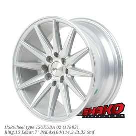 Tsukuba R15 - HSRwheel Makassar Velg Mobil Racing Import