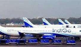 IndiGo Ground Staff on roll vacancies for full time job. Multiple job