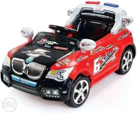 Battery operated mini car with remote