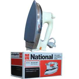 National Iron  NI-21AWT - Deluxe Automatic Dry Iron With 1 Year Warran