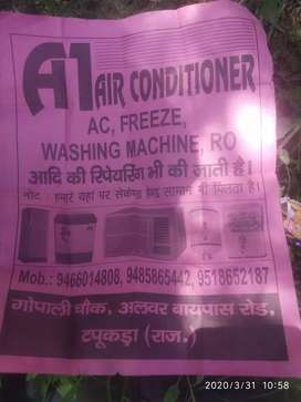 AC reapair   and service  250rs