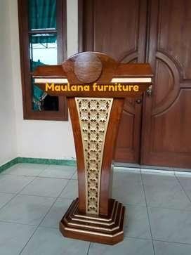 Mimbar furniture podium pidato