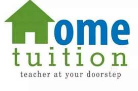 Home tution is teacher is available at your door step