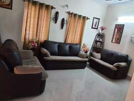 Sofa set (7 seater) with center table