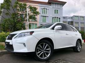 RX270 F-Sport 2014 White On Beige Km40rb Bodykit Sunroof GPS DP Ringan
