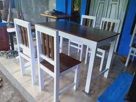 Set meja makan minimalis promo