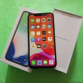 Iphone X 256gb silver exs inter original terawat