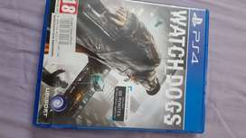 Watch dogs PS4 physical disc