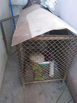 Heavy  iron cage for sale