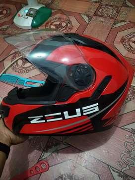 helm ZEUS full face doble visor