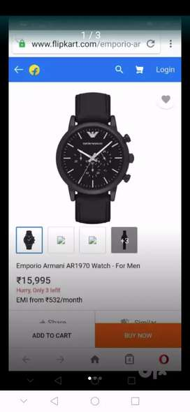 I WANT TO SELL MY WATCH OF EMPORIO ARMANI