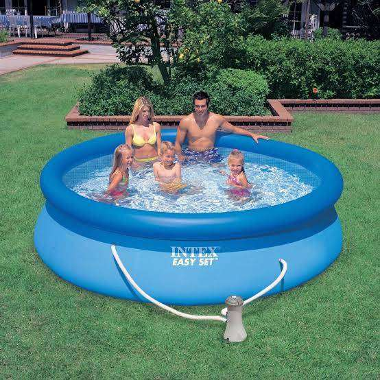 Intex 8Feet Easy Set Pool With Filter And Pump 0