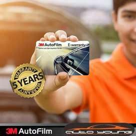 Kaca Film 3M Sidoarjo | Black Beauty Series | E-Warranty Card ATM
