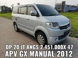 Suzuki APV GX manual