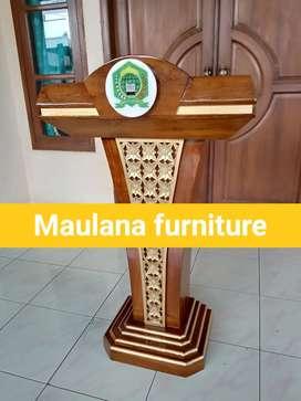 Mimbar podium masjid Pancasila spesial