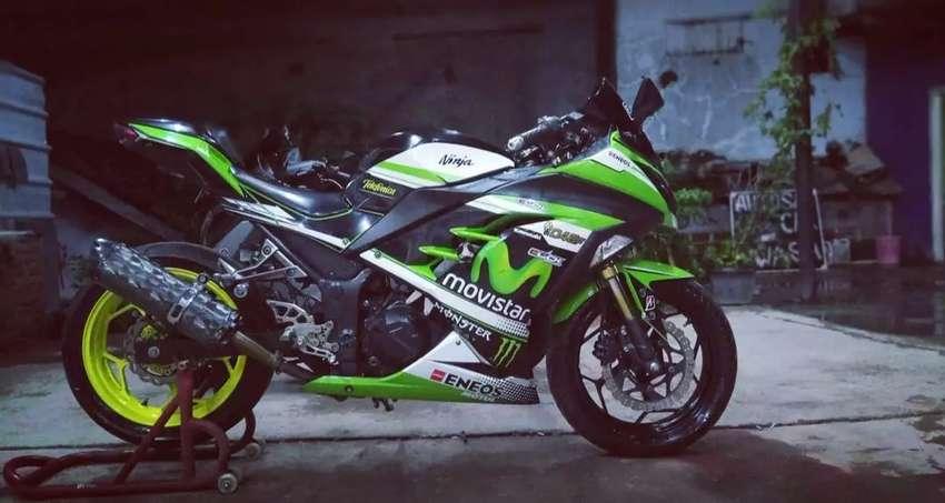 Ninja 250fi tahun 2012 Plat F Kotamadya 0