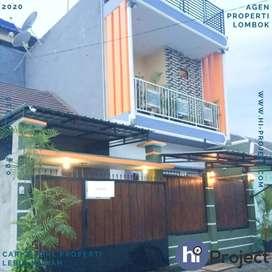 Rumah 3 lantai dan isinya di Perumahan Griya Rumak Asri Kediri R184