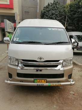 Grand cabin hiace for RENT Boking