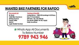 Need Bike Riders For India's Largest Bike Taxi App