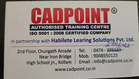 CADPOINT,  HABILETE LEARNING SOLUTIONS, office receptionist, FOR WOMEN