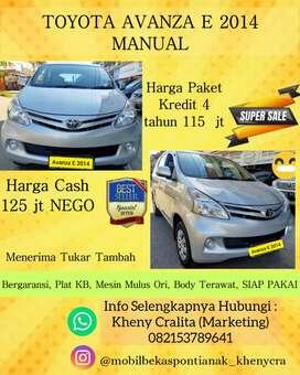 Toyota Avanza E Manual tahun 2014