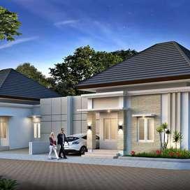 Rumah Minimalis Sudah Pecah Kapling, Harga 665jt Dekat Jogyabay
